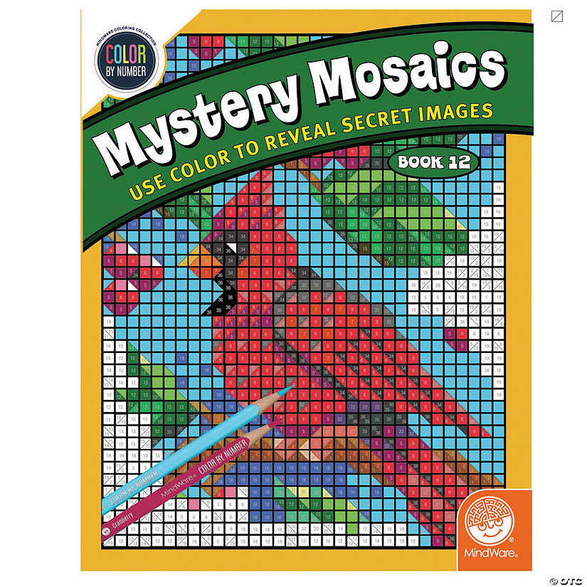Color by Number Mystery Mosaics: Book 12 Image Thumbnail