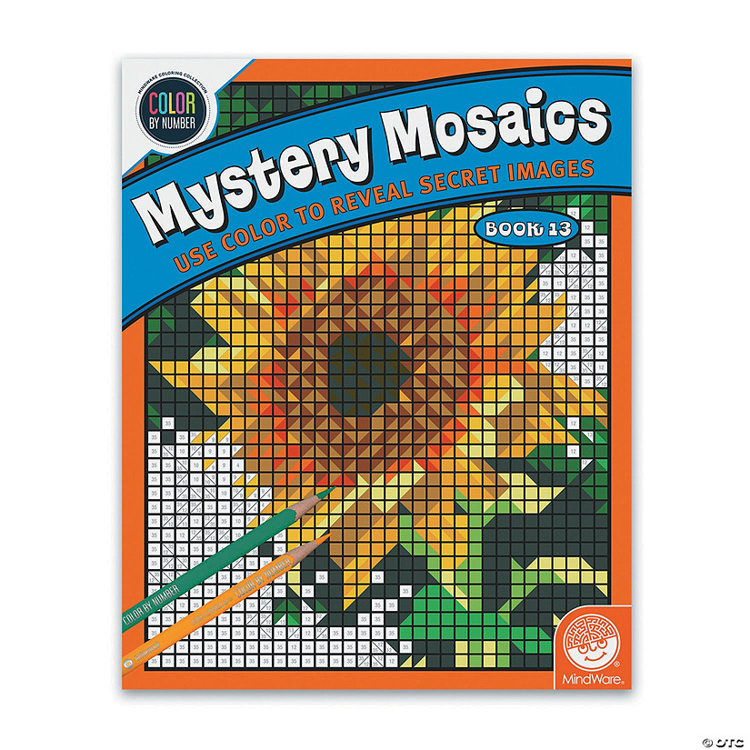 Color By Number Mystery Mosaics: Book 13 Image Thumbnail