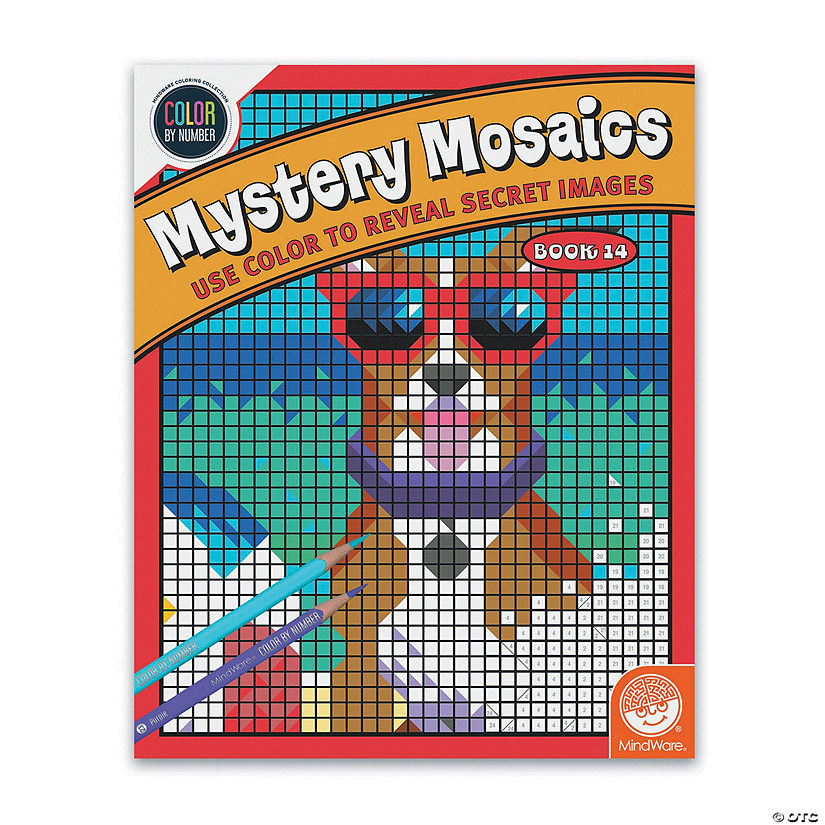 Color By Number Mystery Mosaics: Book 14 Image Thumbnail