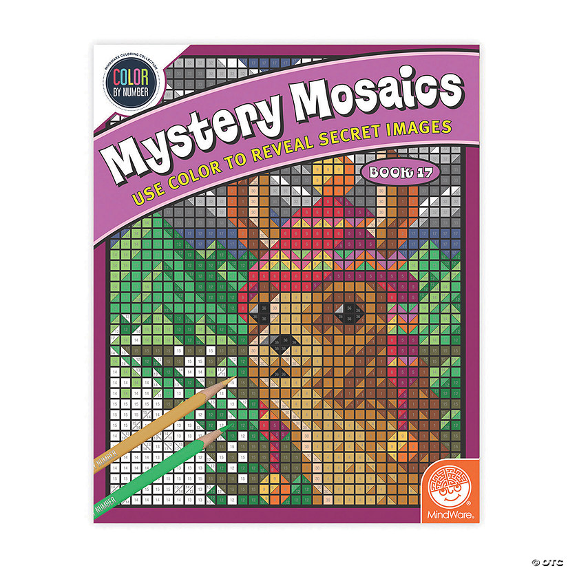 Color By Number Mystery Mosaics: Book 17 Image Thumbnail