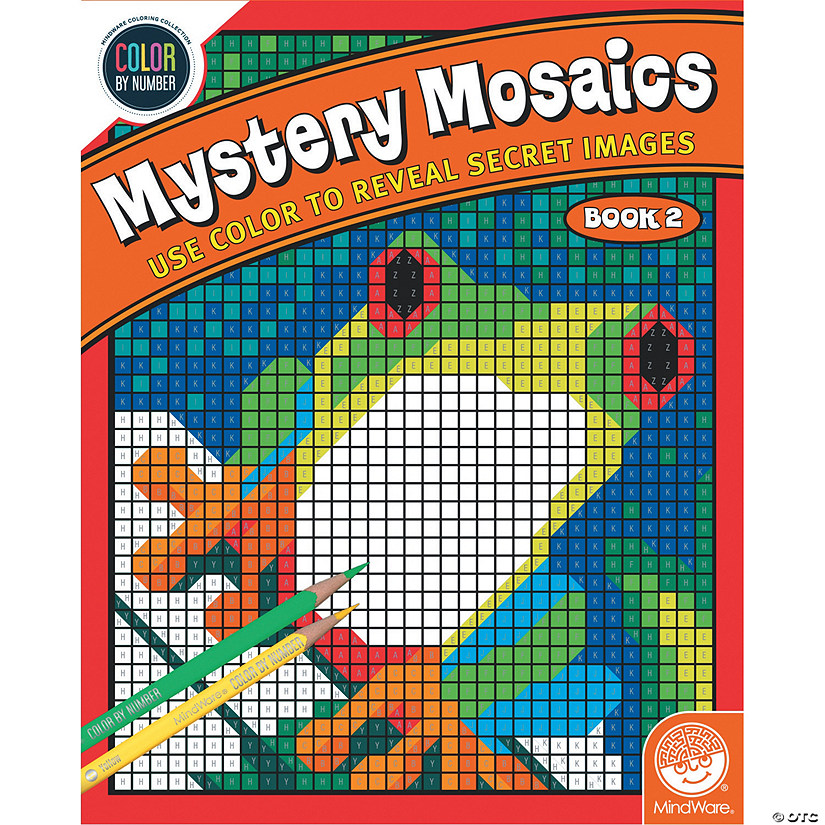 Color By Number Mystery Mosaics: Book 2 Image Thumbnail