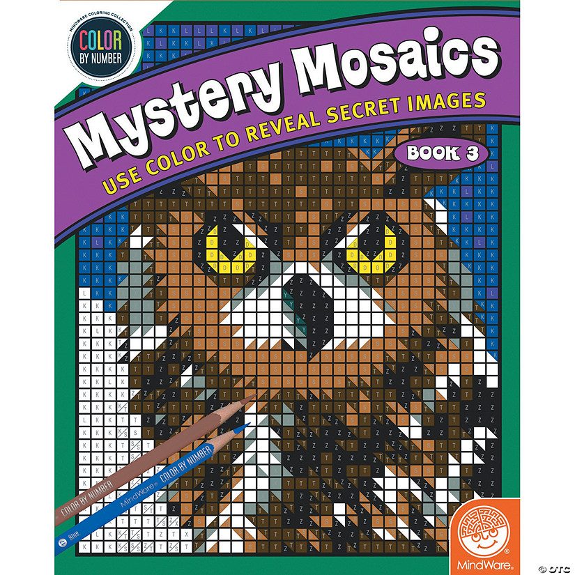 Color By Number Mystery Mosaics: Book 3 Image Thumbnail