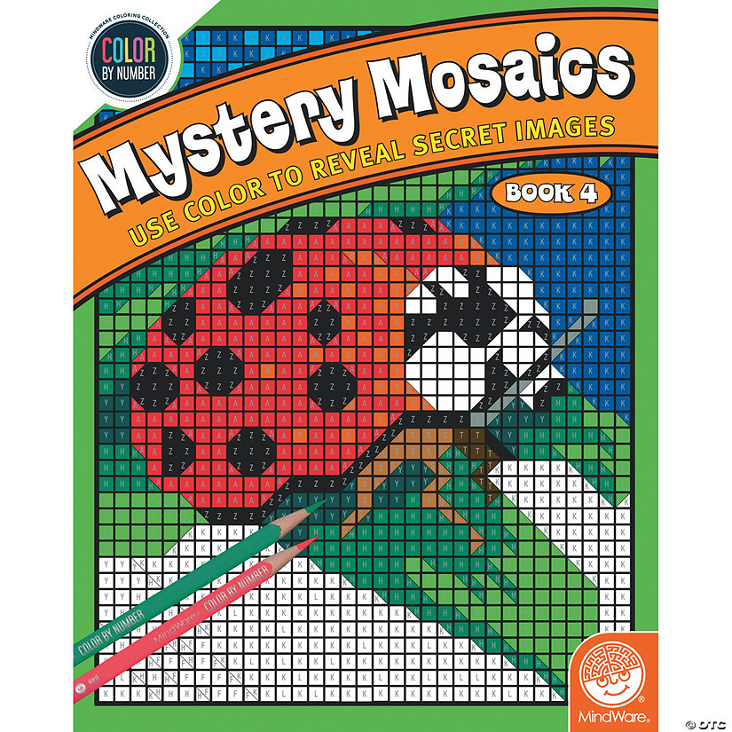 Color By Number Mystery Mosaics: Book 4 Image Thumbnail