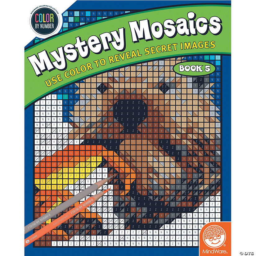 Color By Number Mystery Mosaics: Book 5 Audio Thumbnail