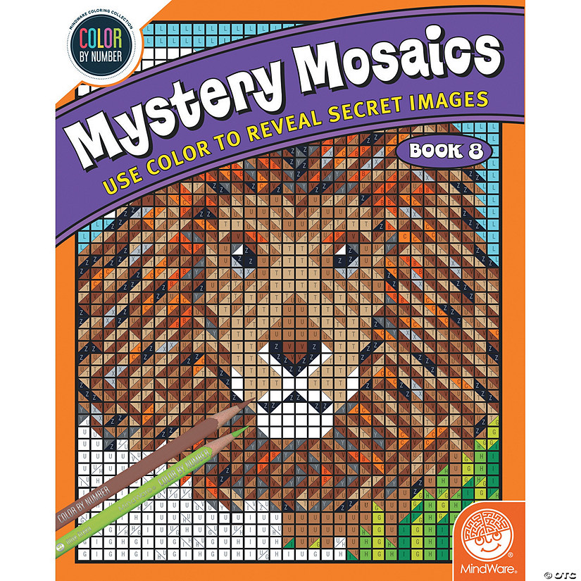 Color By Number Mystery Mosaics: Book 8 Image Thumbnail