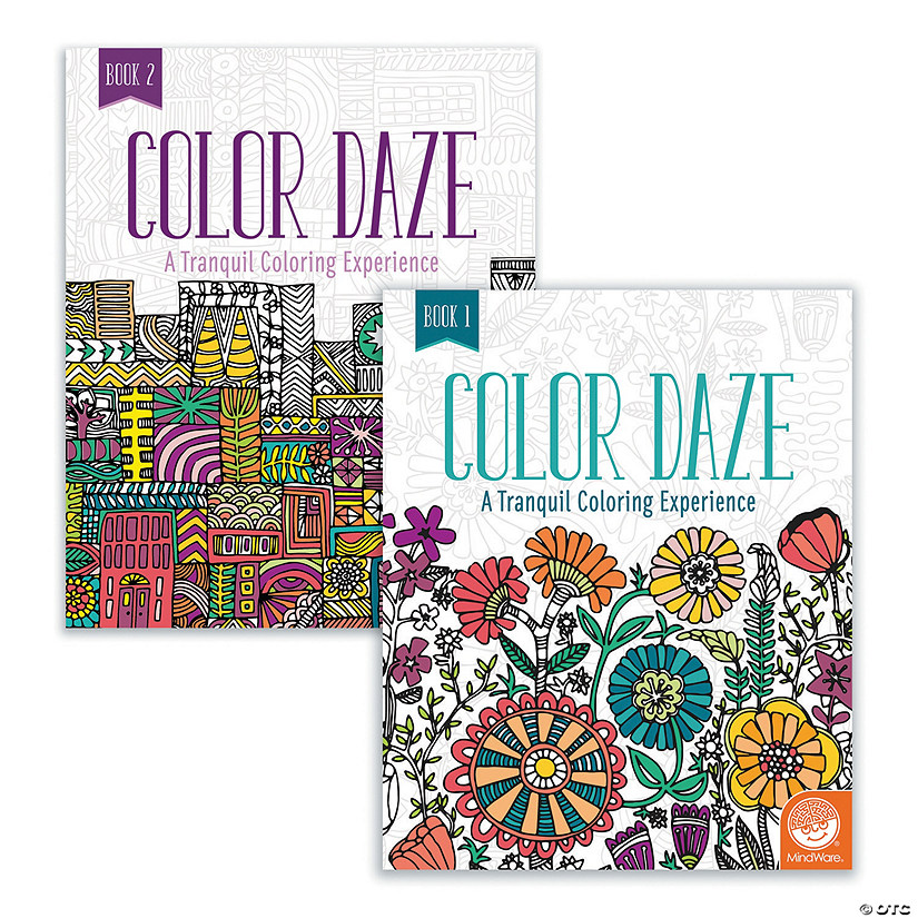 Color Daze: Set of 4 with 24 FREE Markers Image Thumbnail