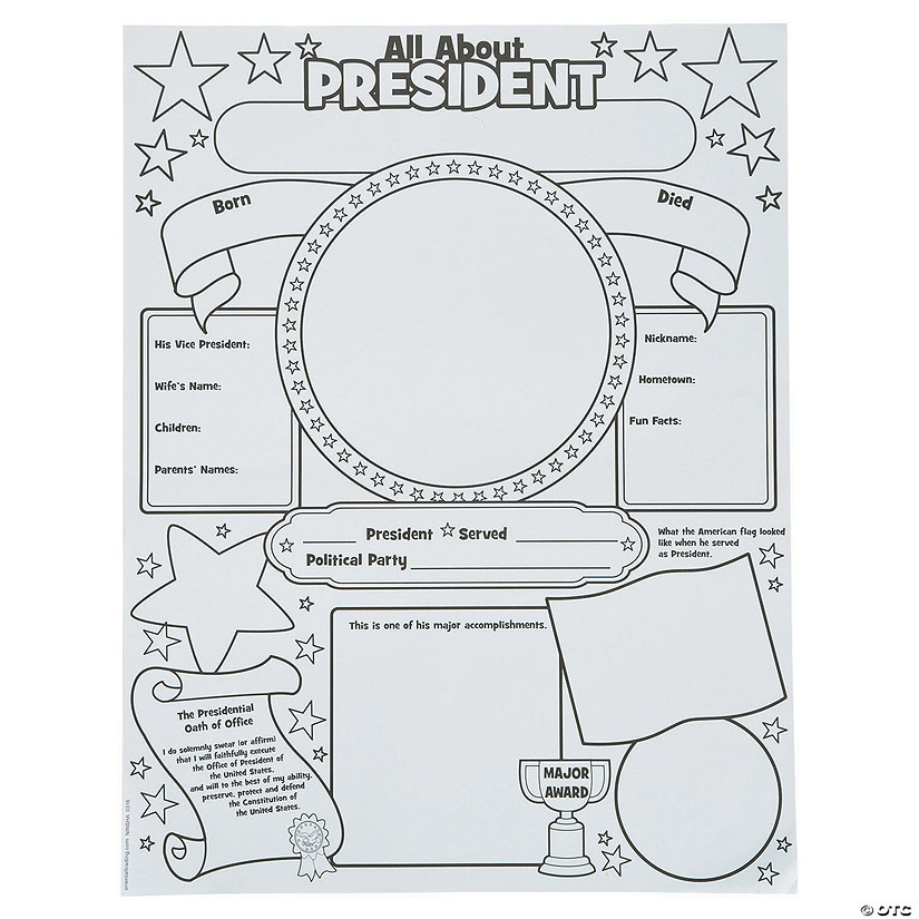 Color Your Own All About a President Posters Audio Thumbnail