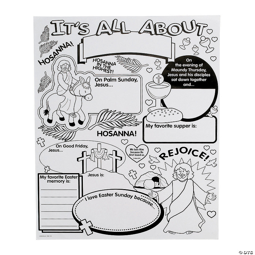 "Color Your Own! ""All About"" Holy Week Posters Audio Thumbnail"