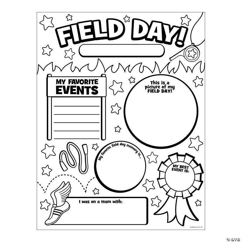 Color Your Own All About My Field Day Posters Audio Thumbnail