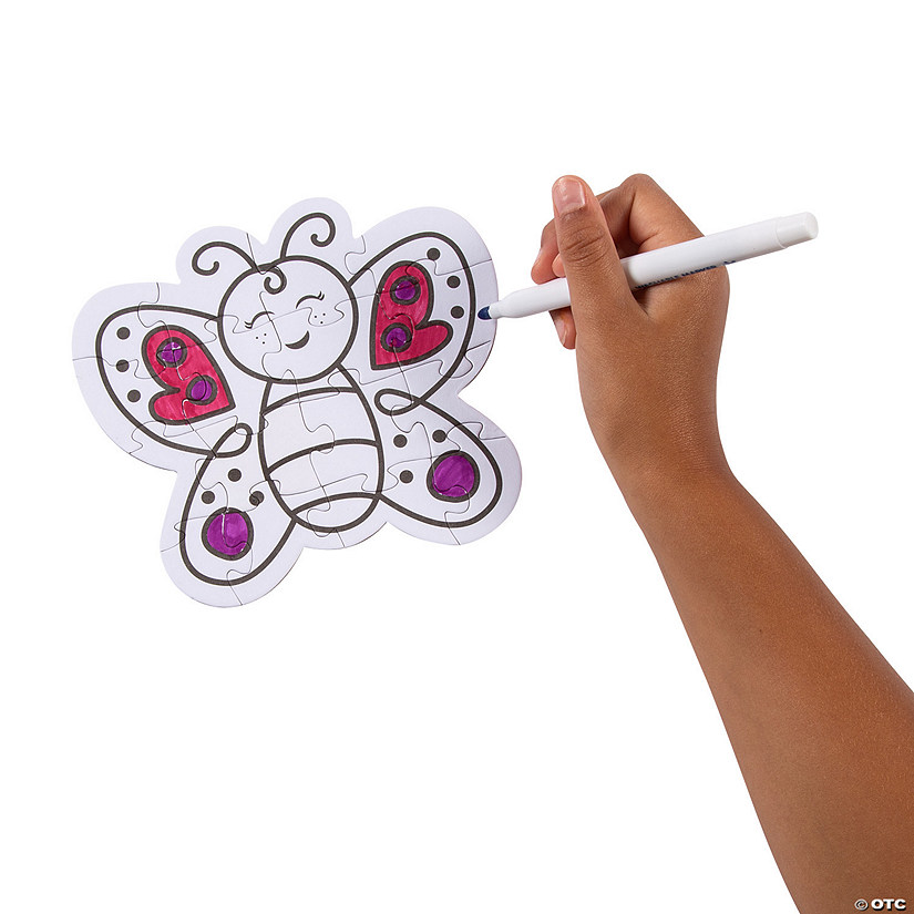 Color Your Own Butterfly Puzzles Audio Thumbnail