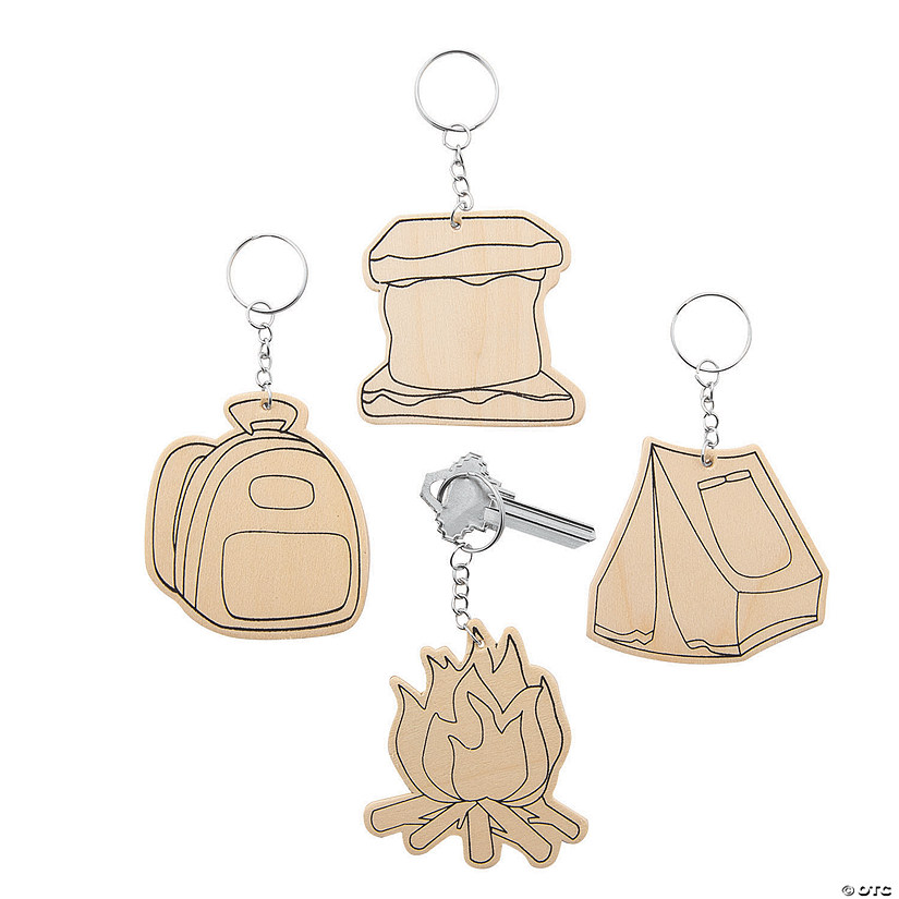 Color Your Own Camp Keychains Audio Thumbnail