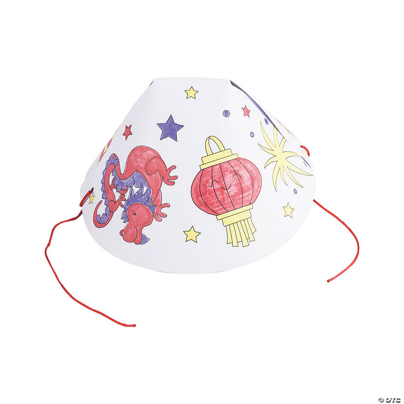Color Your Own Chinese New Year Hats Audio Thumbnail