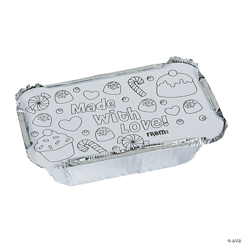 Color Your Own Christmas Loaf Pans Audio Thumbnail