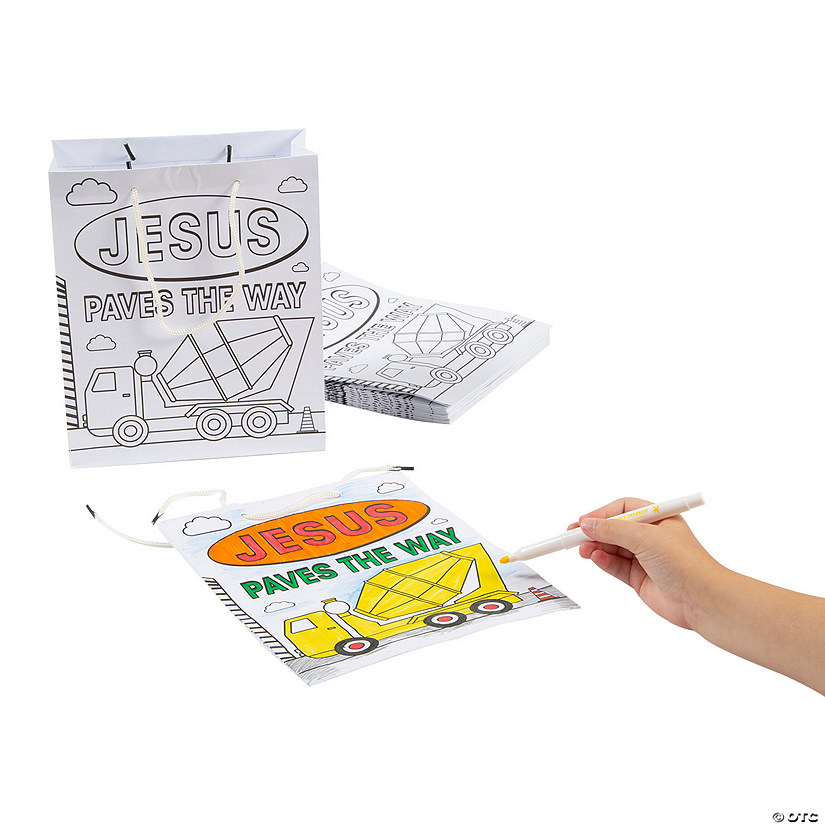Color Your Own Construction VBS Medium Take Home Bags Audio Thumbnail
