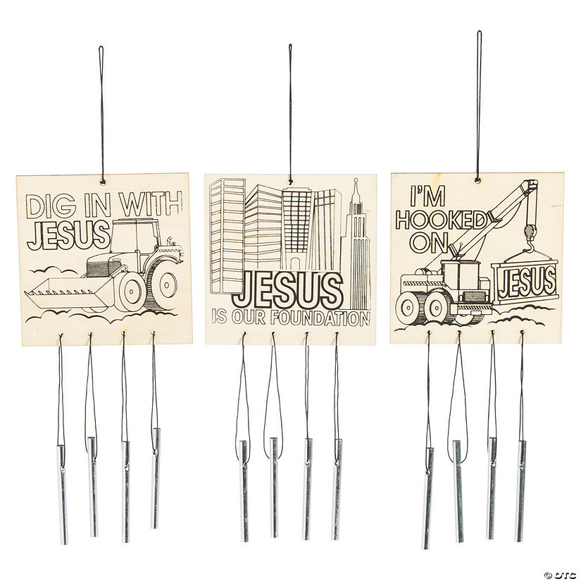 Color Your Own Construction VBS Wind Chimes Audio Thumbnail