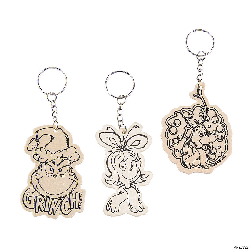 Color Your Own Dr. Seuss™ The Grinch Keychains Audio Thumbnail
