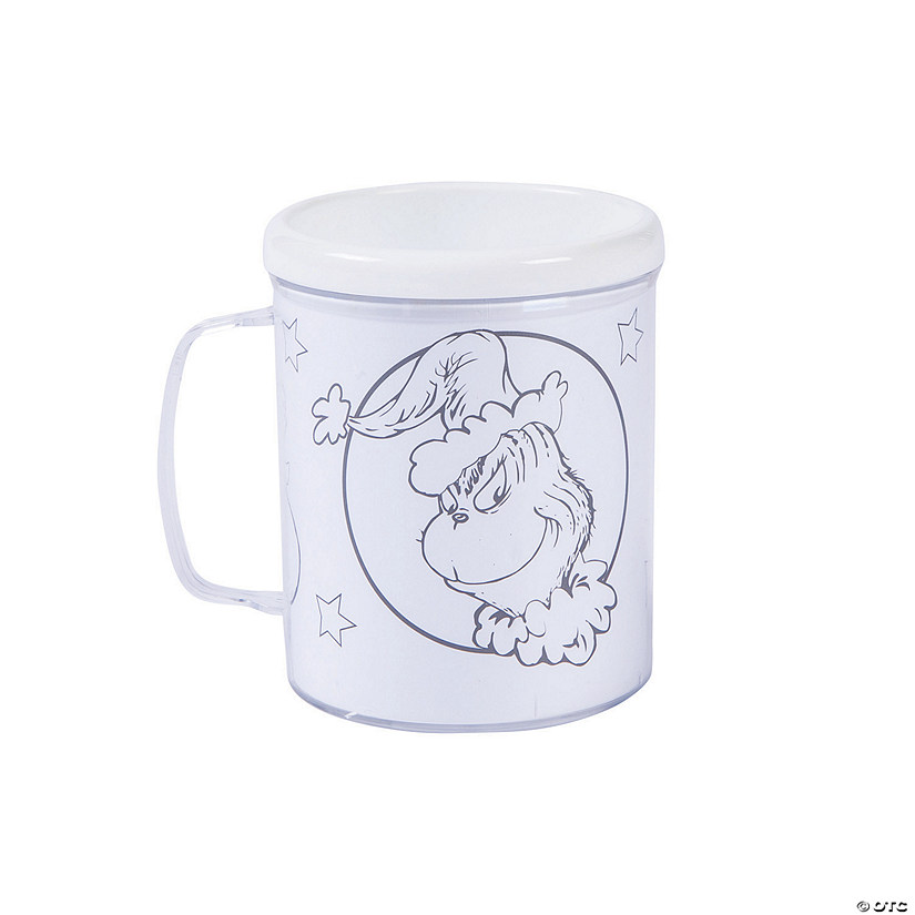 Color Your Own Dr. Seuss™ The Grinch Plastic Mugs Audio Thumbnail