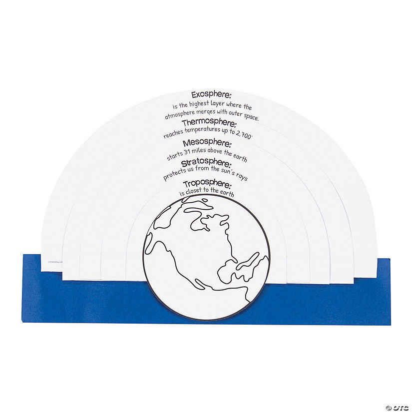 Color Your Own Earth's Atmosphere Kits Image Thumbnail