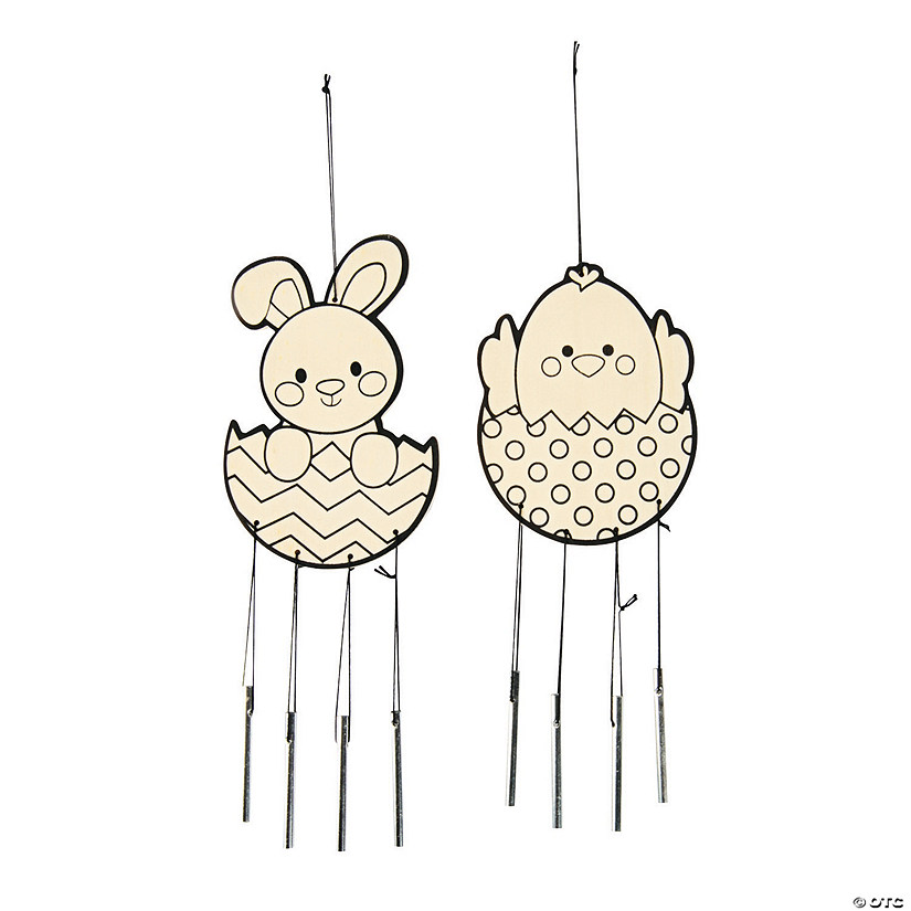 Color Your Own Easter Wind Chimes Audio Thumbnail