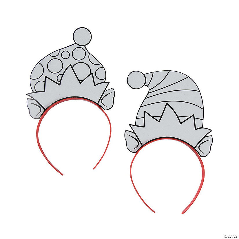 Color Your Own Elf Headbands Audio Thumbnail