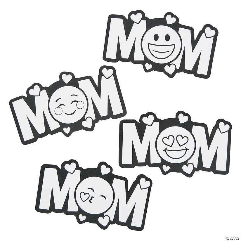 Color Your Own Emoji Mom Magnets Audio Thumbnail