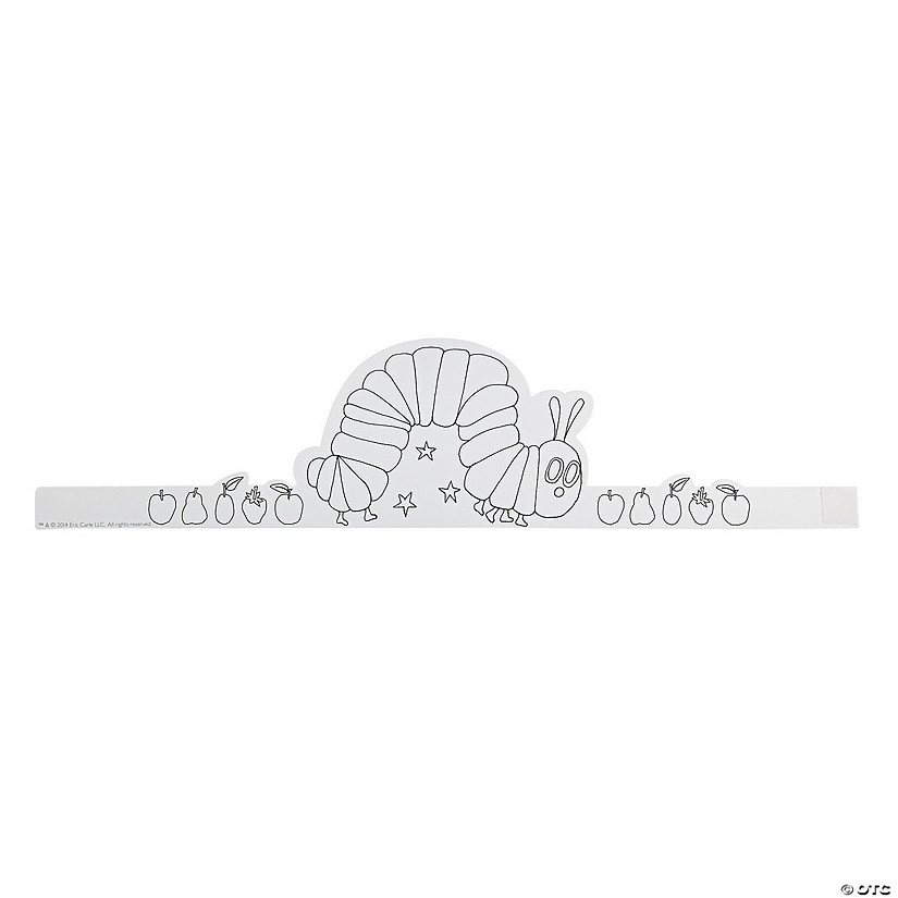 "Color Your Own Eric Carle's ""The Very Hungry Caterpillar™"" Crowns Audio Thumbnail"