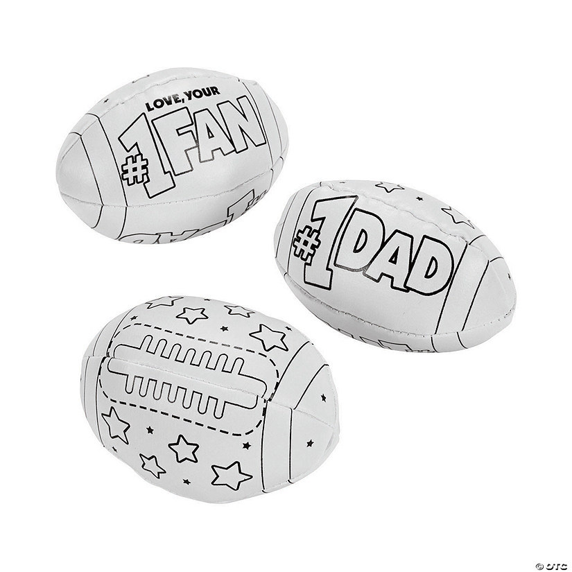Color Your Own Father's Day Footballs Audio Thumbnail