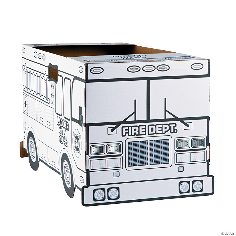 Color Your Own Fire Truck Costume Audio Thumbnail