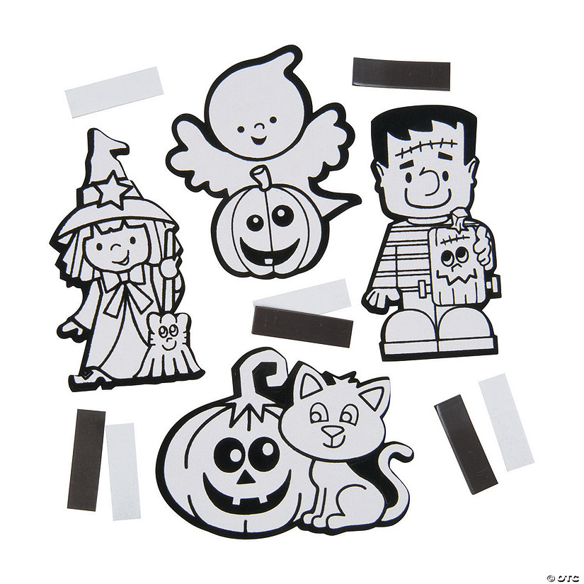 Color Your Own Fuzzy Halloween Magnets Audio Thumbnail