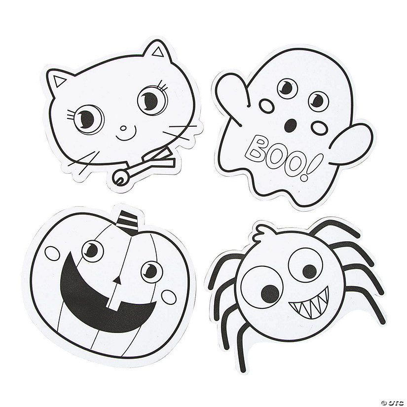 Color Your Own Halloween Magnets Audio Thumbnail