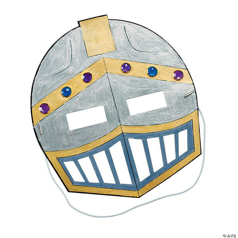 Color Your Own Knight's Mask  Audio Thumbnail