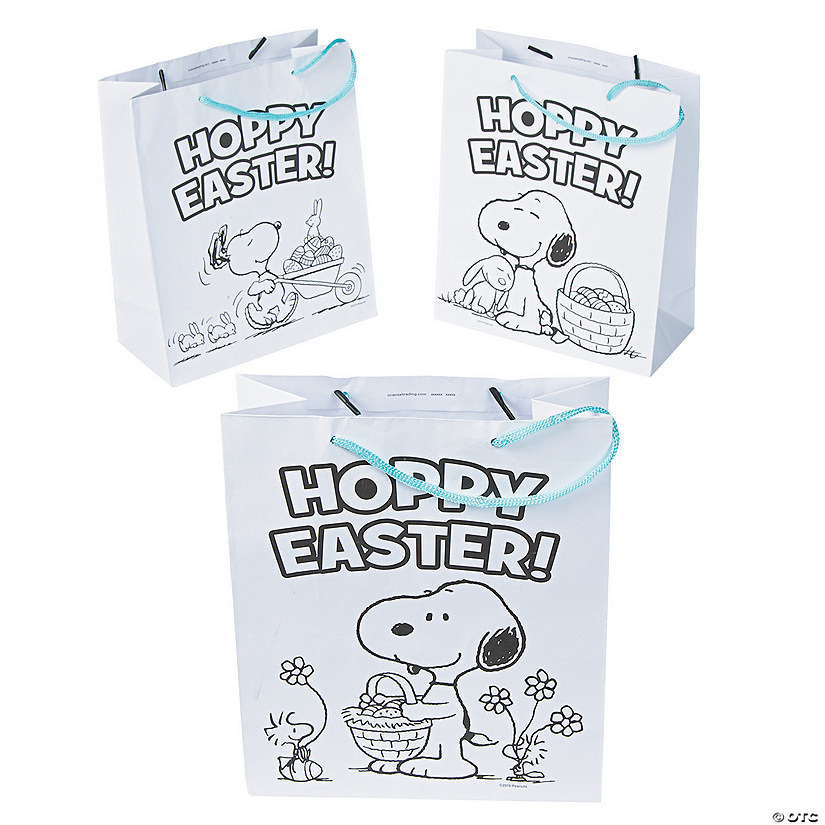 Color Your Own Medium Peanuts<sup>&#174;</sup> Easter Gift Bags Audio Thumbnail