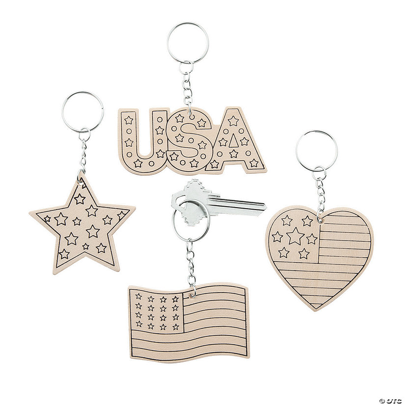 Color Your Own Patriotic Keychains Audio Thumbnail