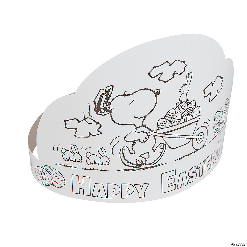 Color Your Own Peanuts® Easter Crowns