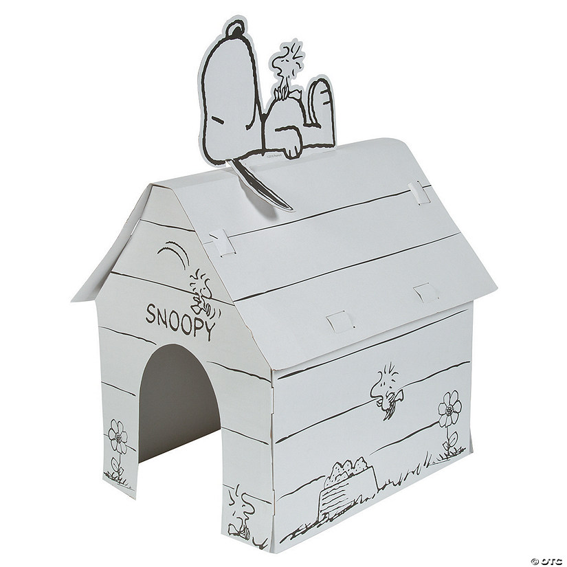 Color Your Own Peanuts® Snoopy Playhouse Image Thumbnail