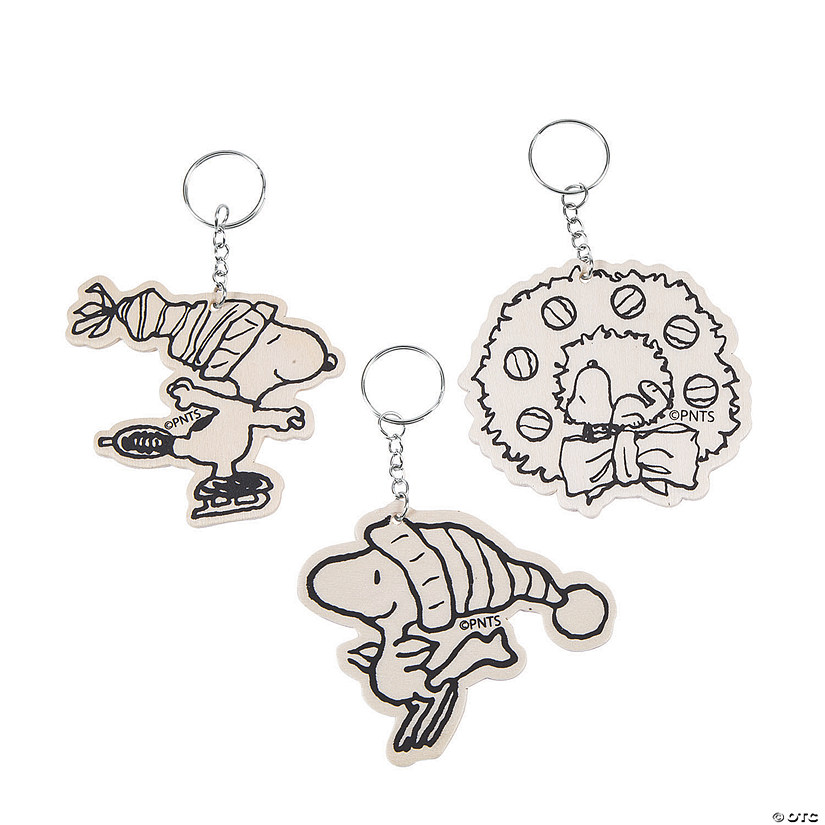 Color Your Own Peanuts<sup>&#174;</sup> Christmas Keychains Audio Thumbnail