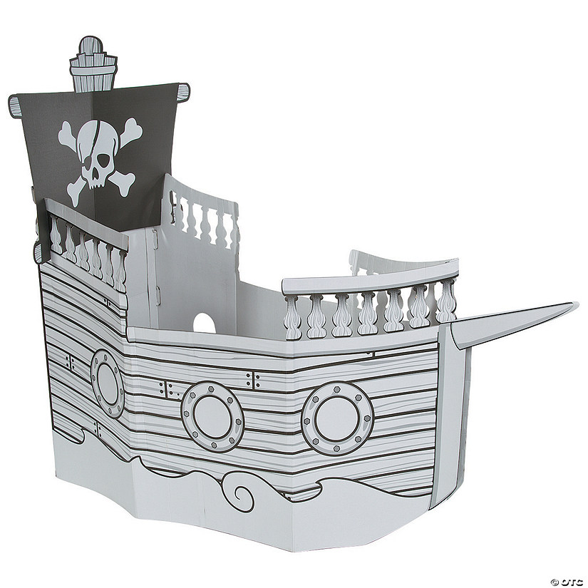 Color Your Own Pirate Ship Playhouse Audio Thumbnail