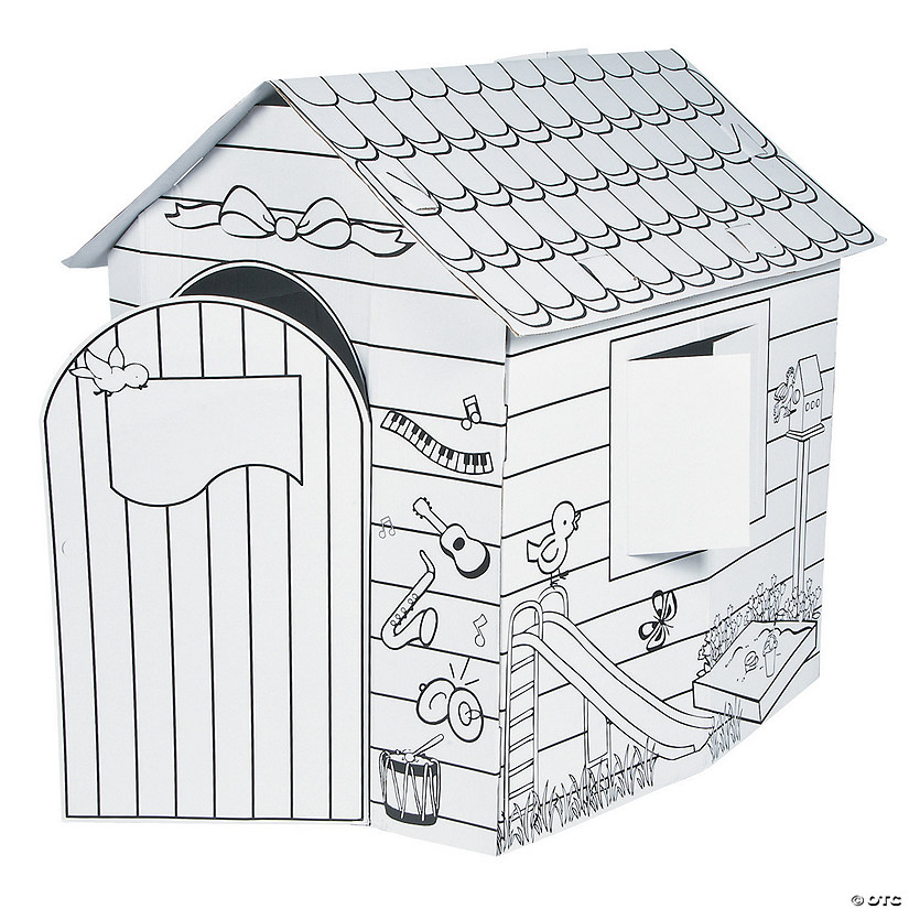 Color Your Own Playhouse