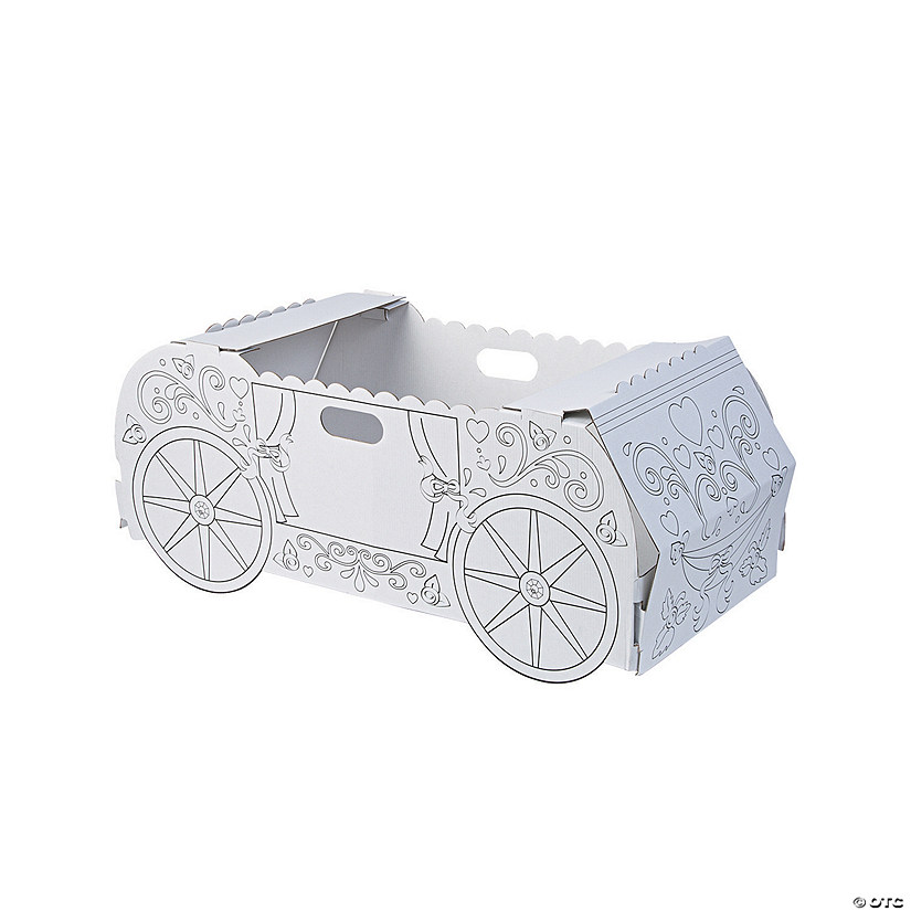 Color Your Own Princess Carriage Box Costume Audio Thumbnail