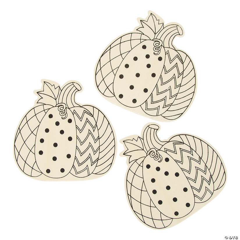 Color Your Own Pumpkins Image Thumbnail