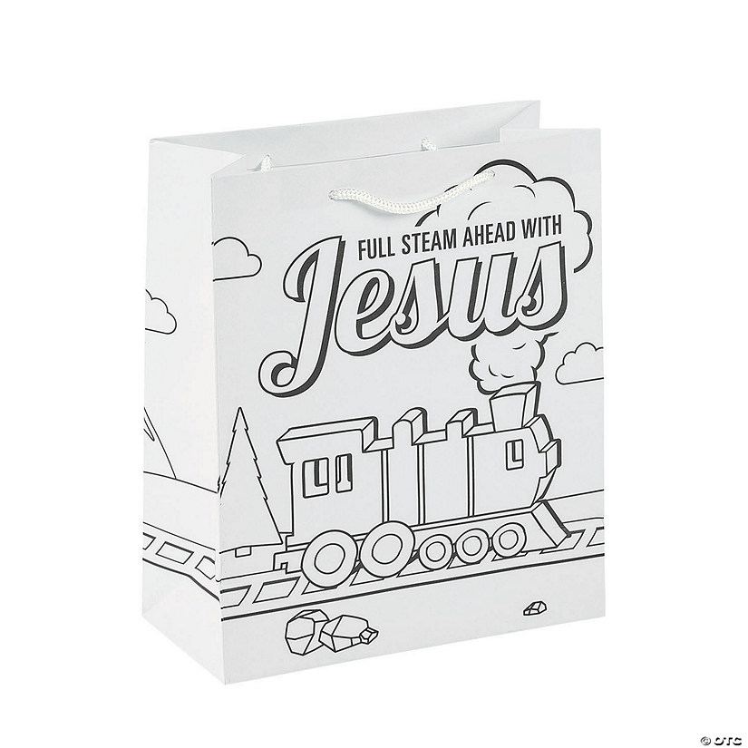 Color Your Own Railroad VBS Medium Take Home Bags Audio Thumbnail