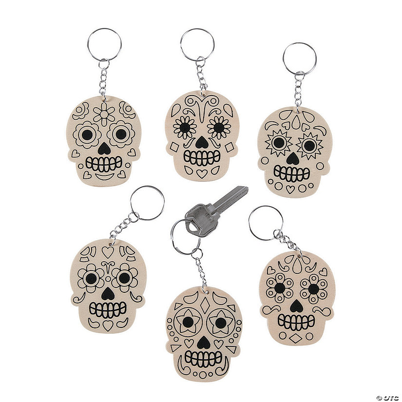 Color Your Own Skull Keychains Audio Thumbnail