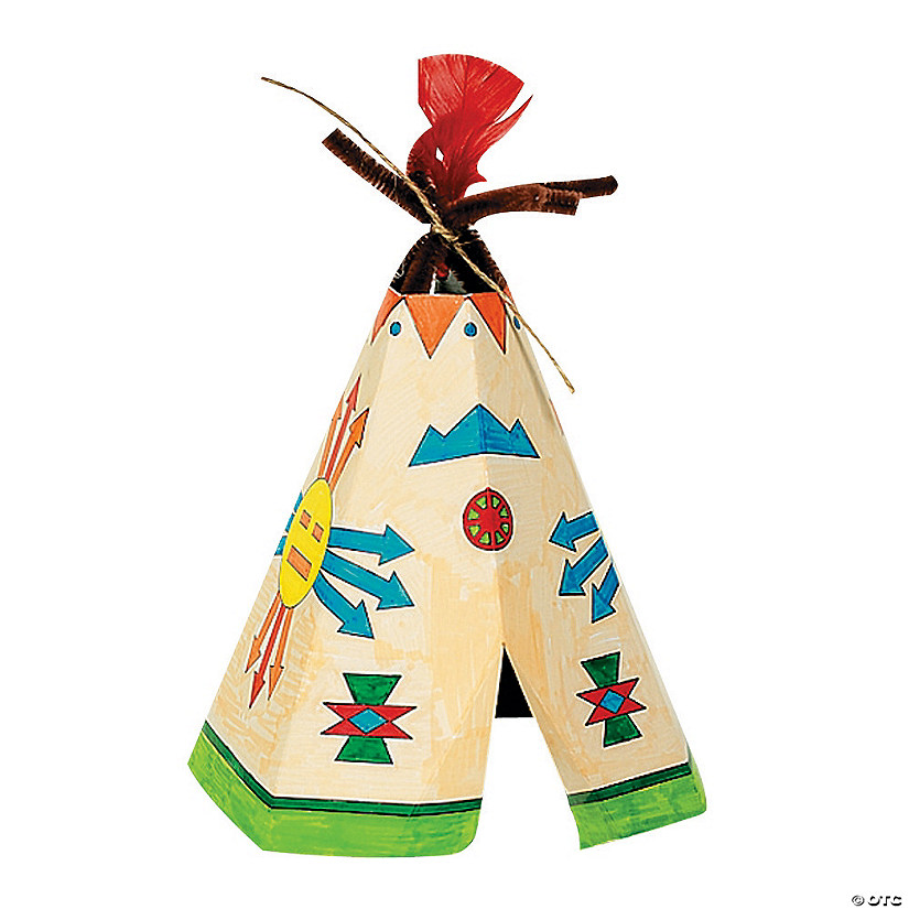 Color Your Own Teepees Image Thumbnail