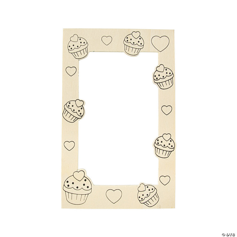Color Your Own Valentine Picture Frame Magnets Audio Thumbnail
