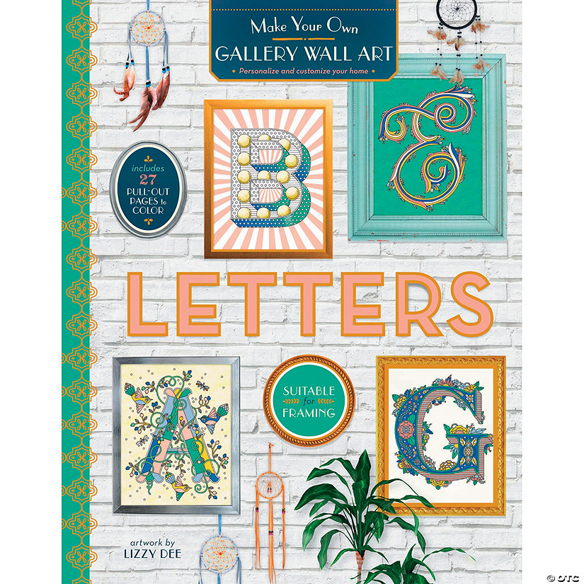 Color Your Own Wall Art Letters Discontinued