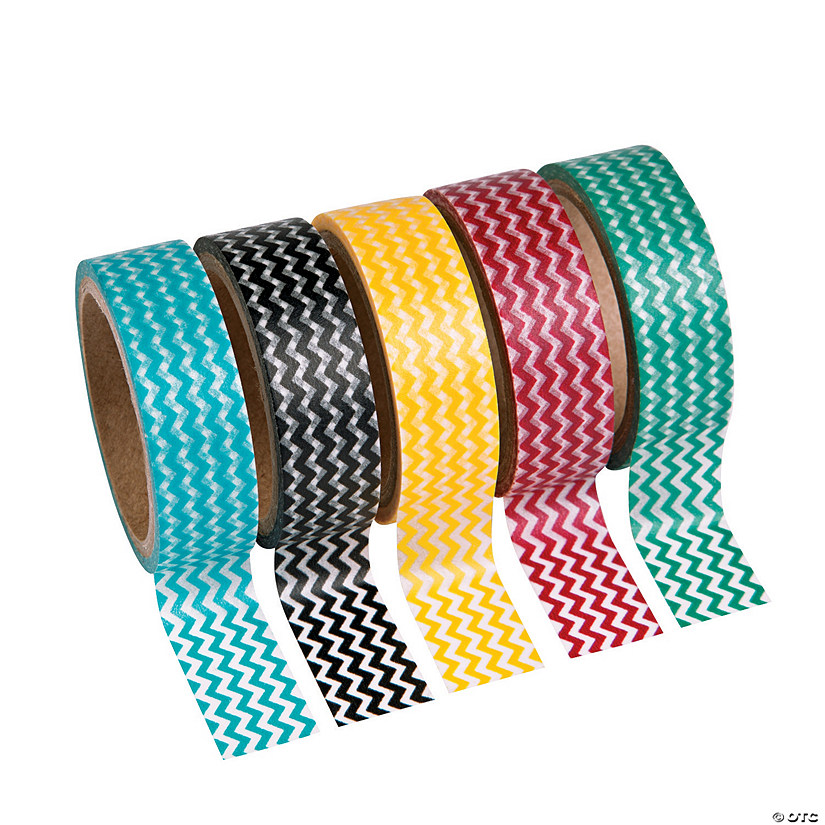 Colorful Chevron Washi Tape Set Audio Thumbnail