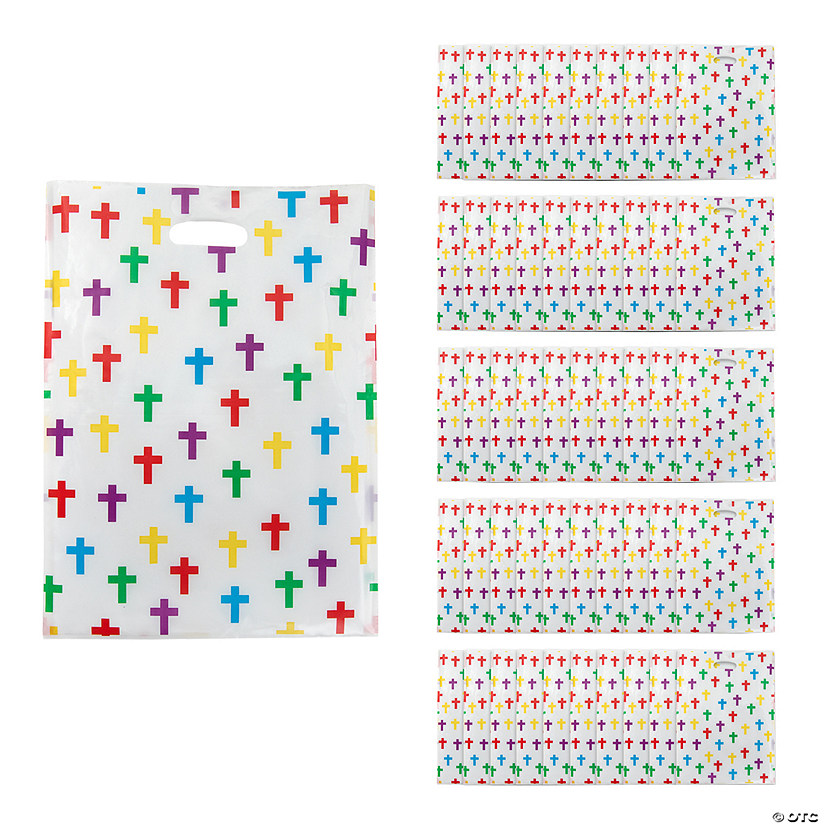 Colorful Cross Goody Bags with Handle Audio Thumbnail