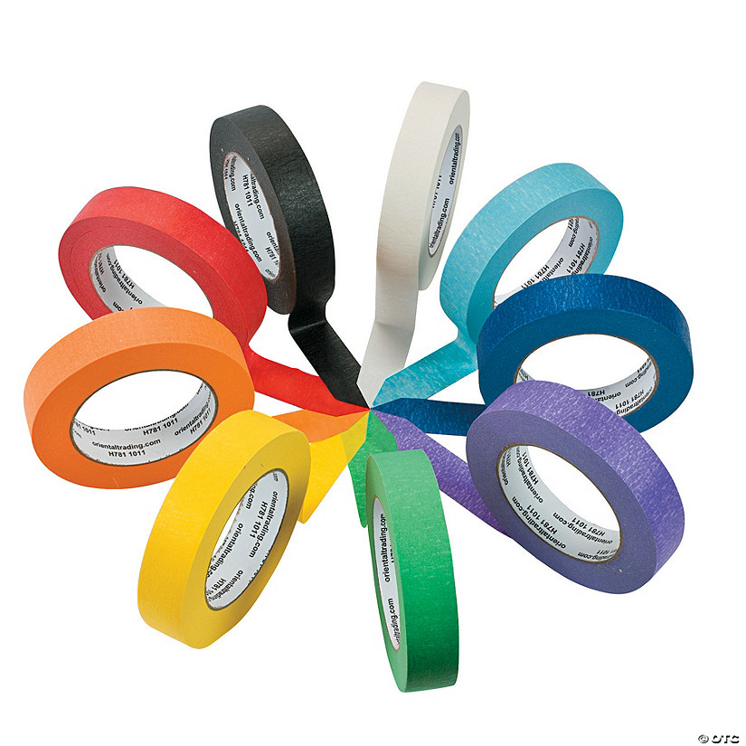 Colorful Masking Tape Set Audio Thumbnail