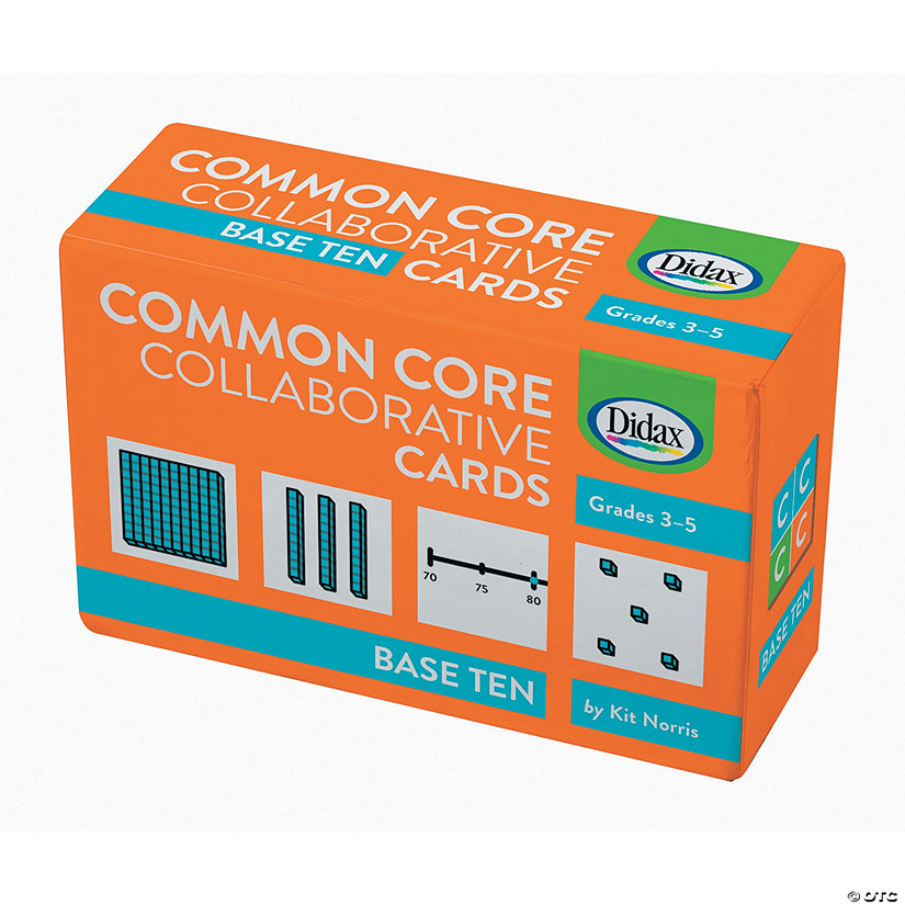 Common Core Collaborative Cards: Base Ten