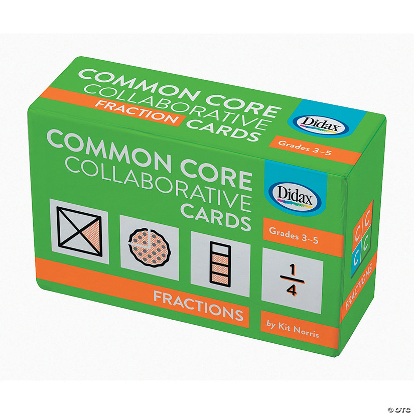 Common Core Collaborative Cards: Fractions